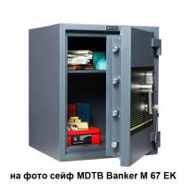 Сейф MDTB Banker M-1055 EK