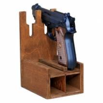 Ложемент на 2 пистолета и обоймы